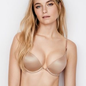 Victoria's Secret Nude Bombshell Push Up Bra